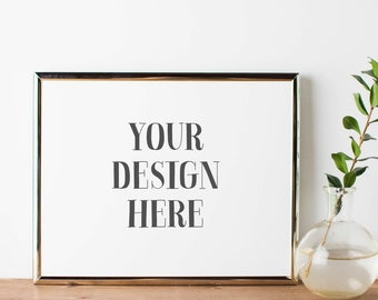 Download Free Styled Stock Photography | Neutral Frame Styled Image | Frame Stock Photography | Digital Image PSD Template