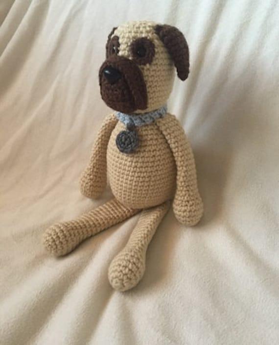Crochet Mastiff Amigurumi Project: British Wool | TOFT | 704x570