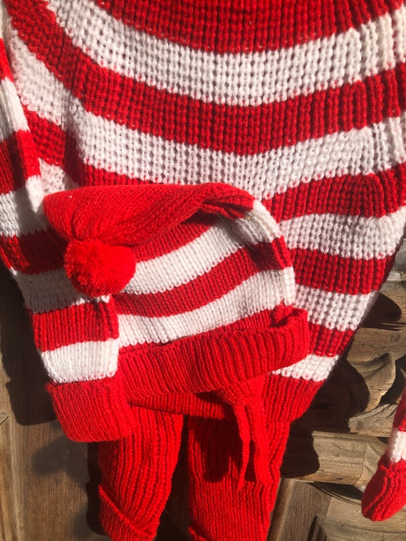Vintage Deadstock Knit Three Piece Sweater and Pa… - image 2