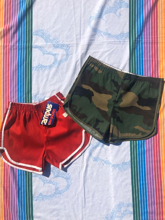Deadstock Vintage Camo Athletic Shorts
