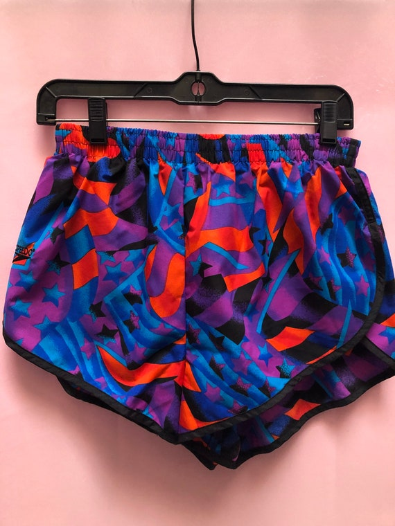 Deadstock Vintage 1980's Printed Speedo Shorts - image 8