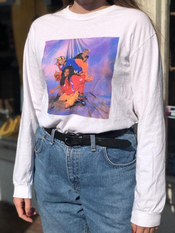 Vintage 90's Legends Cross Colours Long Sleeve TLC