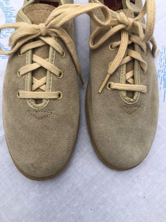 Vintage New Deadstock Jordache Suede Lace Up Shoes - image 2