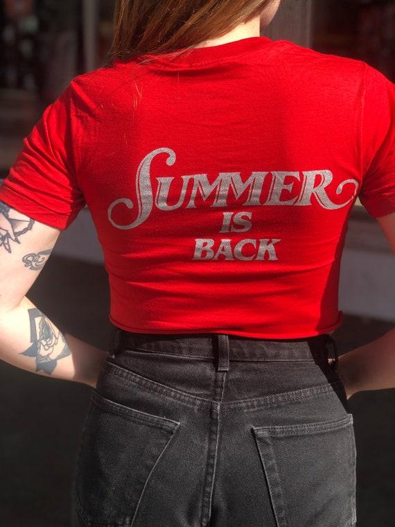 """Vintage Donna Summer 1981 Tour """"Summer is Back"""" Cr"""