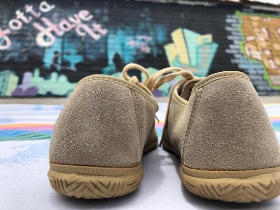 Vintage New Deadstock Jordache Suede Lace Up Shoes - image 3
