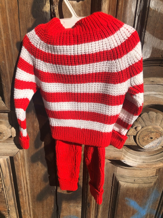 Vintage Deadstock Knit Three Piece Sweater and Pa… - image 3