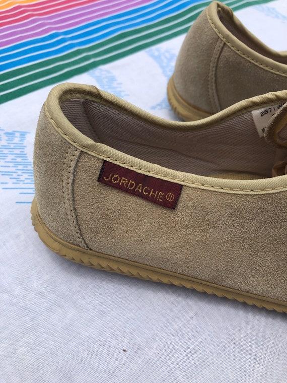 Vintage New Deadstock Jordache Suede Lace Up Shoes - image 4