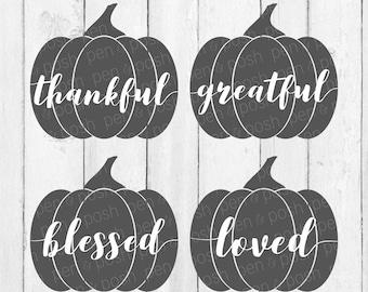 Pumpkin SVG - Pumpkins SVG - Pumpkin Svg Bundle - Halloween Svg - Thanksgiving Svg - Fall Svg - Pumpkin Silhouette Svg - Fall Autumn Svg