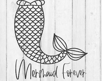 Mermaid - Mermaid SVG - Mermaid Tail Svg - Mermaid Tails Vectors - Mermaid Sayings SVG - Svg - Mermaid Cut Files -Summer Cut Files - Vectors