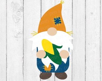 Gnome Scarecrow SVG - Fall Gnome SVG - Fall Gnome - Fall SVG - Scarecrow Svg - Holiday Gnome svg - Gnome Svg For Cricut - Cut Files - Svg