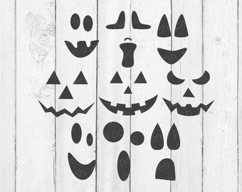 Halloween SVG - Pumpkin SVG - Pumpkin Faces SVG - Jack O Lantern Svg - Pumpkin Face Svg - Pumpkin Faces Svg Files - Pumpkin Face Clipart