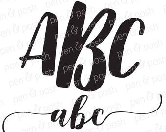 SVG Font - Monogram Fonts - Monogram Font SVG - Font  Monogram SVG - Monogram Fonts for Cricut - Svg Fonts for Cricut