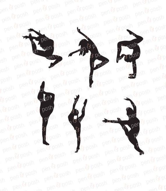 Dance SVG Dance SVG Files Dancer SVG Dancer Cut File | Etsy