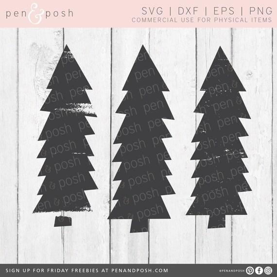 SVG clip art grunge svg dxf Digital Download Winter svg eps Fall SVG distressed Christmas tree svg thanksgiving svg tree svg