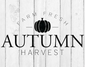 Farm Fresh Sign SVG - Farm Fresh Harvest SVG - Farm Fresh Svg - Farmers Market Svg - Farm Fresh Pumpkins - Fall Sign Svg - Fall Svg - Autumn
