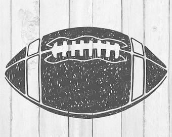Football Svg - Grunge Football SVG - Football Svg Files - Football Svg Cutting Files - Football Cut File - Sports Svg - Football Clipart