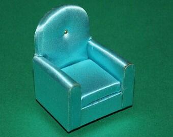 Vintage Dolls House Petite Princess Guest Chair 1960's KM759