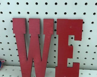 Wood Letters Any Size Painted
