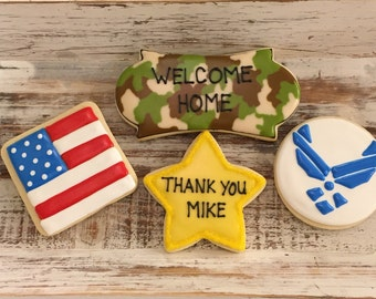 7d2a23cdf5 Welcome Home Deployment Cookies (1 dozen)
