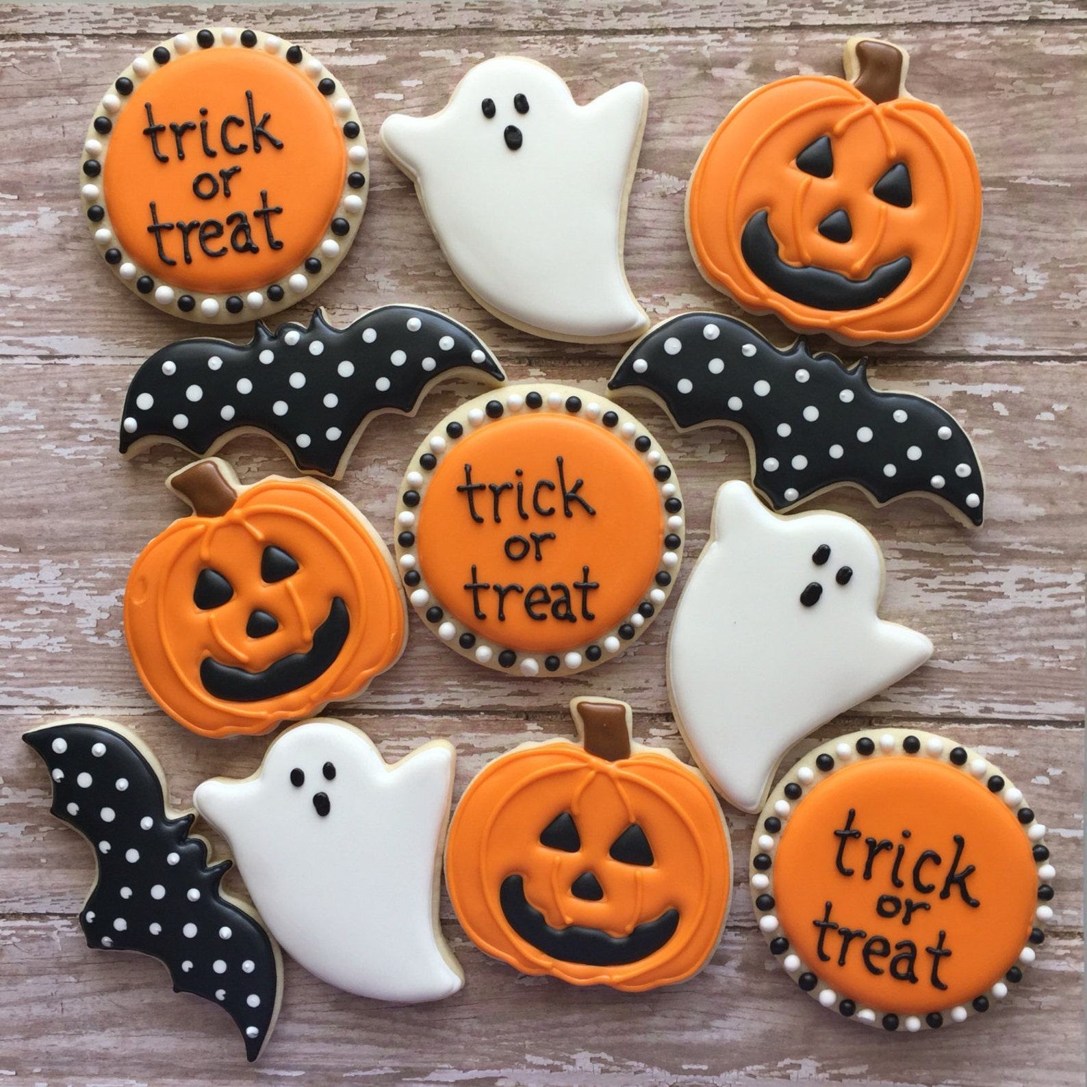 Halloween Cookies Page Four