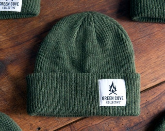 The Highland Camp Beanie - Military Green