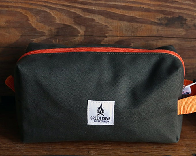 Featured listing image: GCC X Lineage Collab - Lost Mountain Dopp kit