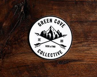 Original Crest Logo Sticker