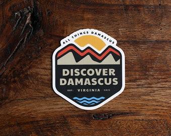 Discover Damascus Sticker
