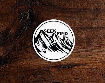 Seek & Find Sticker