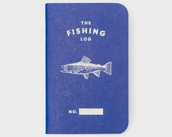 WORD - The Fishing Log - Blue - 3 Pack Bundle