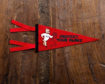 Protect Your Parks Mini Pennant by Oxford Pennant X Good & Well Supply