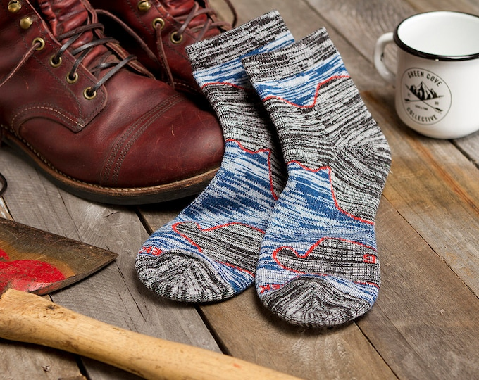 Featured listing image: Trail Crusher Quarter Socks