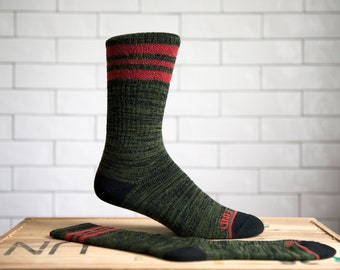 Seek & Find Camp Socks Olive (The Original)