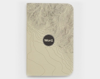 WORD - Ivory Terrain Notebook - 3 Pack Bundle