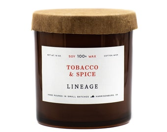 Tobacco & Spice Candle
