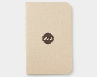 WORD - Natural Notebook - 3 Pack Bundle