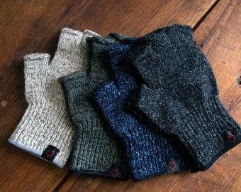 Wisaka Fingerless Wool Gloves
