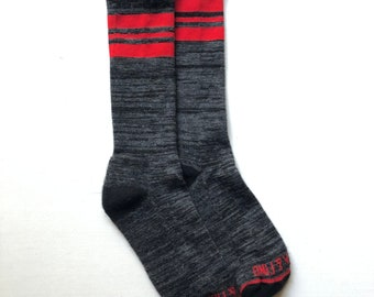 Camp Sock 2.0 - Made in the USA - Charcoal