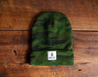 Watch Cap - Woodland Camo