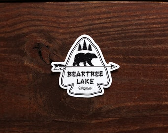 Bear Tree Lake Sticker