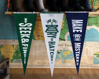 3 Pack Bundle - Wool Pennants
