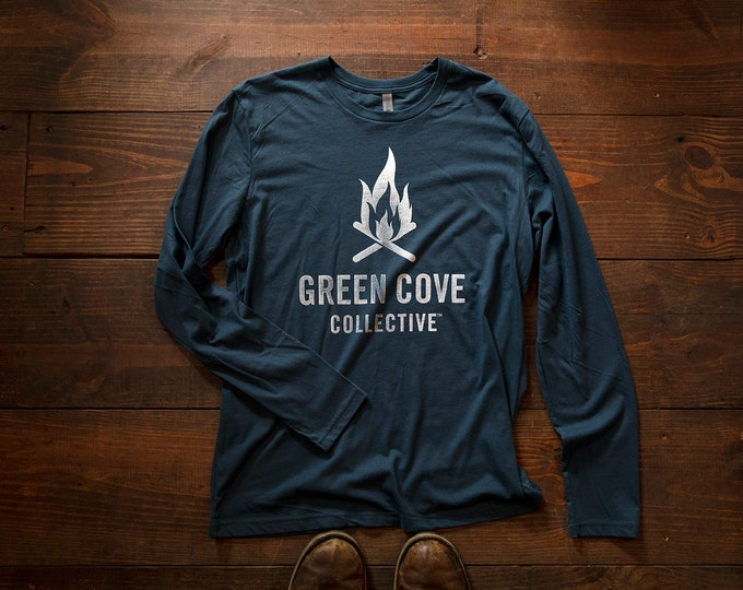 Featured listing image: Campfire Long Sleeve T - Indigo