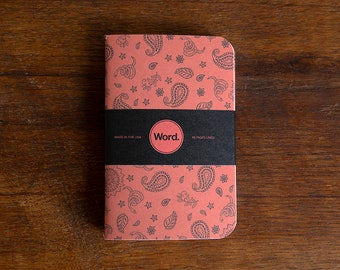 WORD - Snake Bandana Notebook - 3 Pack Bundle