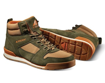 ON SALE - Ridgemont - Monty Hi - Tobacco / Olive