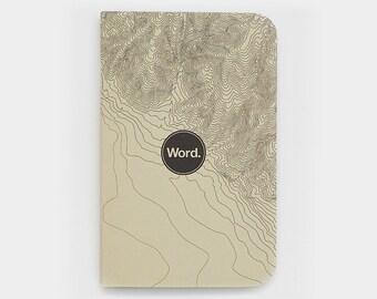WORD - Ivory Terrain Notebook - 3 Pack Bundle