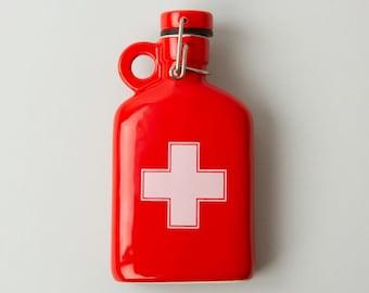 Ceramic Flask - Apothecary