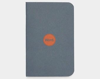 WORD - Denim Notebook - 3 Pack Bundle