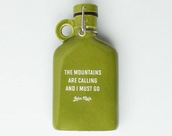 Ceramic Flask - John Muir