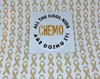 Chemo All The Cool Kids Sticker