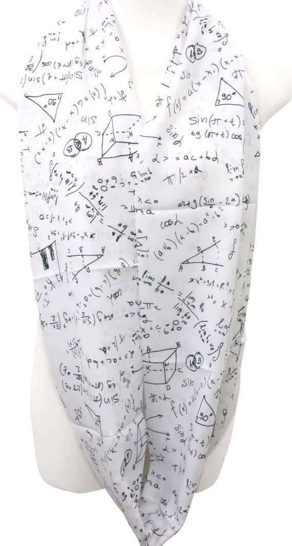 La science Infinity écharpe Professeur de Chimie Cadeau de Noël pour son Nerd Geek Biolog Echarpes, châles Vêtements, accessoires